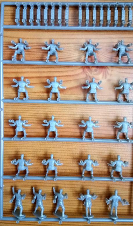 Emhar Gokstad 9th Century Viking Oarsmen Miniatures Wargaming