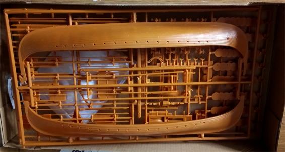 Emhar Gokstad 9th Century Viking Ship Scale Model Parts
