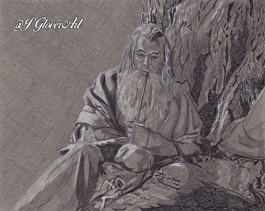 The Grey Pilgrim – PreliminaryDrawing