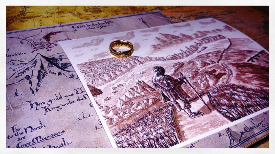 The Road Goes Ever On – Prints HaveArrived!
