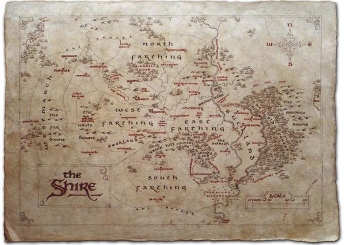 shire map hobbiton atlas middle earth hobbi hobbits jrr tolkien lotr lord of the rings fantasy art illustration calligraphy daniel reeve