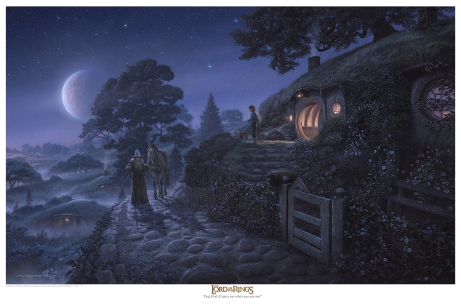 Middle-earth Inspiration: Jerry Vanderstelt – Bag End: Expect Me When You See Me