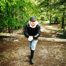 Country Bumpkin Style - Selfie self portrait photograph photography forest woods