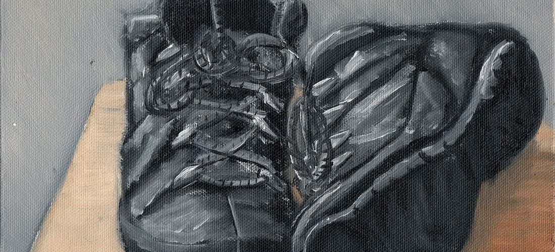 boots shoes still life oil painting alla prima vincent van gogh post impressionism artist art illustration sketch