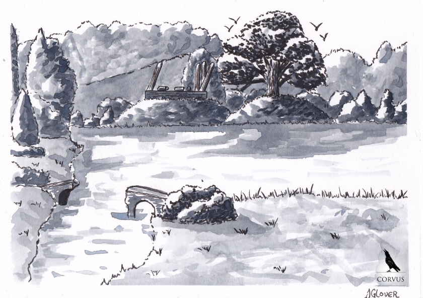 corvus - graphic novel - fantasy - art - story - illustration - raven - ravens - crows - storytelling