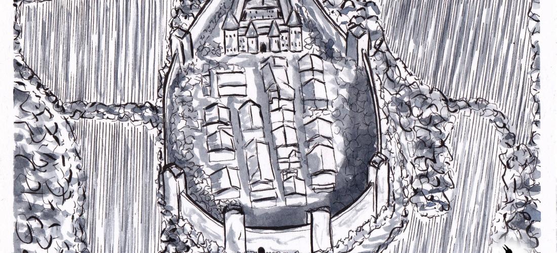 Corvus - Art - Illustration - Graphic Novel - Web Comic - Inktober - Story - Ink - Drawing - Fantasy - Ravens