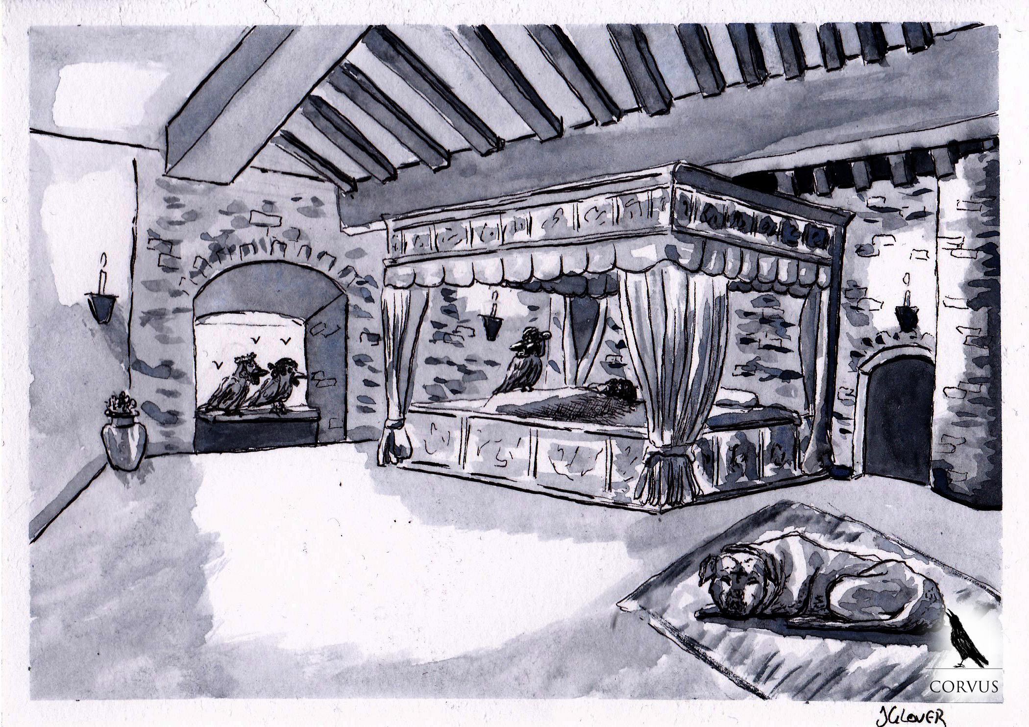 Corvus - Graphic Novel - Web Comic - Art -Illustration - Drawing - Ink - Ravens - Corvids - Folk Lore