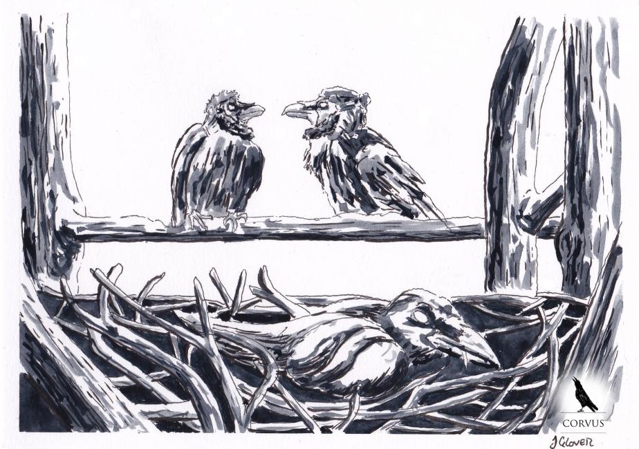 Corvus – A Raven's Tale – Crown of Crows – Part II – The Sickness of Corvus'Sibling