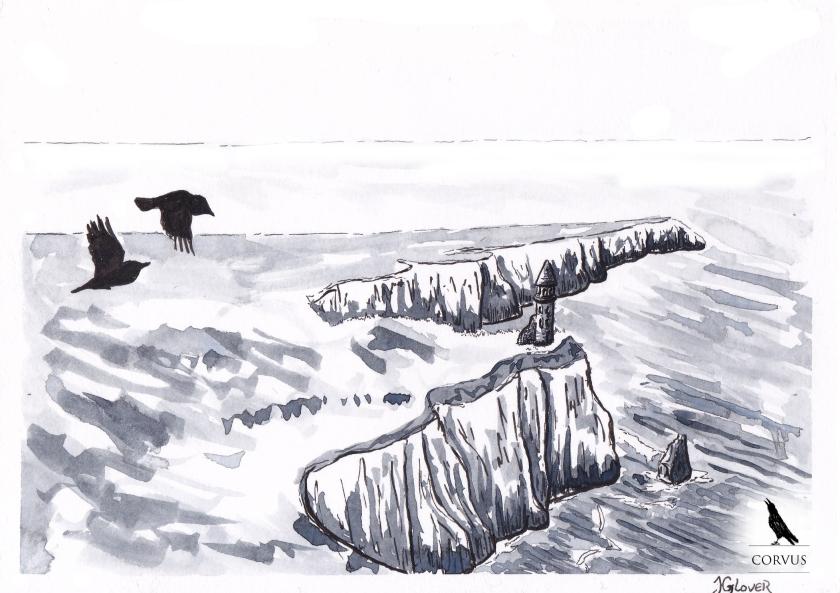 Corvus - graphic novel - webcomic - fantasy - art - illustration - illustrated - story