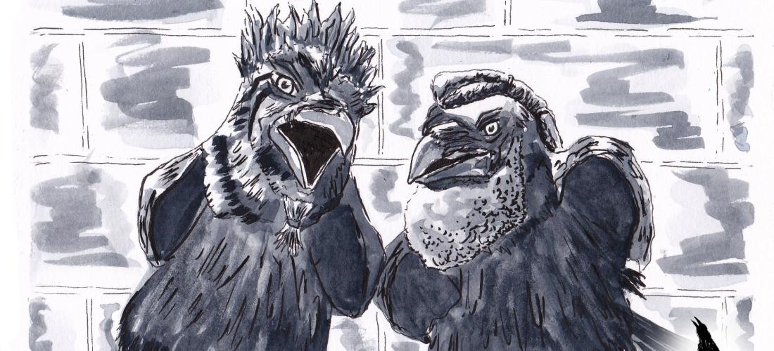 Corvus - graphic novel - fantasy - web comic - art - story - illustration - raven - crow - character - concept - design