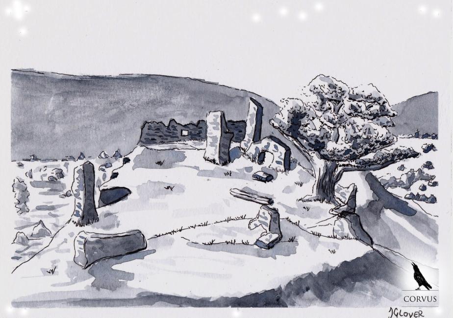 Corvus - Graphic Novel - Fantasy - Web - Comic - Art - Illustration - Story - History - Allegory - Inktober