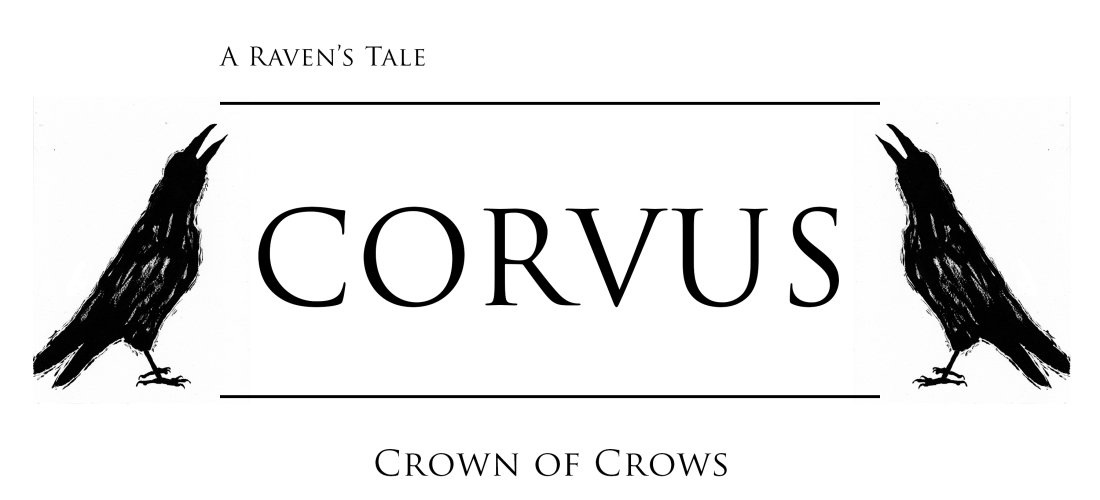 Corvus - raven - ravens - graphic novel - art - illustration - inktober - crows - fantasy - story - history