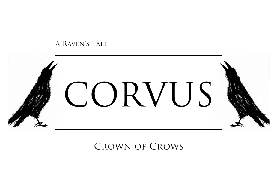 Corvus – A Raven's Tale – Crown of Crows – Inktober Graphic Novel Illustration Art Project