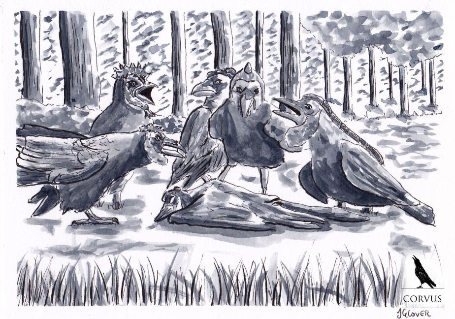 Corvus – A Raven's Tale – Crown of Crows – Part XXII – A Funeral for Finbar, More Mourning for theCorvids