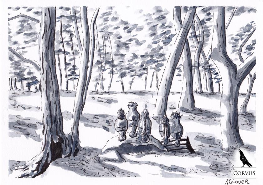 Corvus - Art -Illustration - Graphic Novel - Web Comic - Drawing - Story