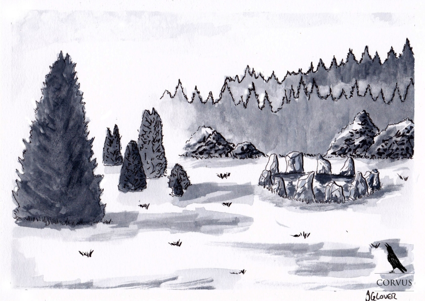 Corvus - Art - Illustration - Graphic Novel - Folklore - Web Comic - Raven - Crow