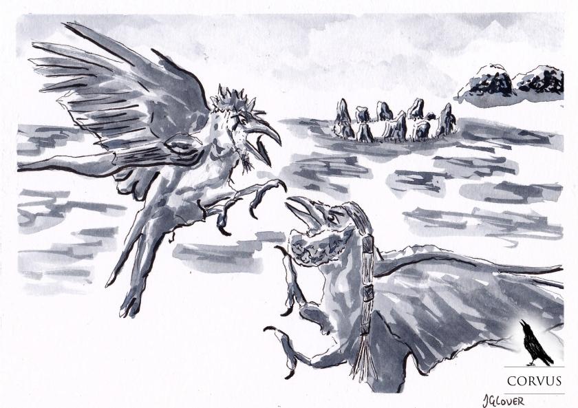 Corvus - Graphic Novel - Web Comic - Art - Illustration - Story - Fiction - Drawing