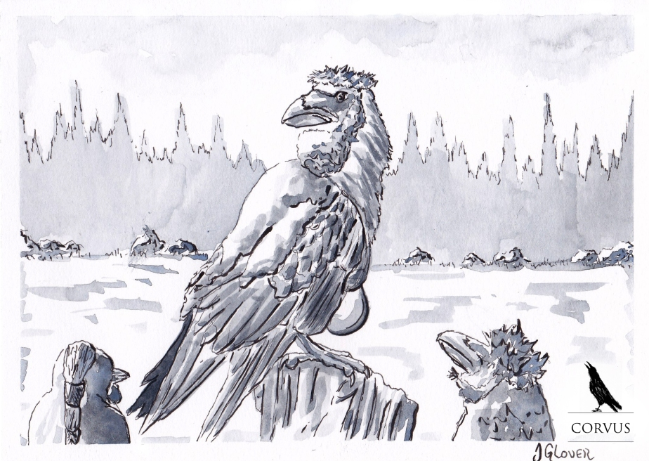 Corvus - Graphic Novel - Art - Illustration - Drawing - Fantasy - Folklore