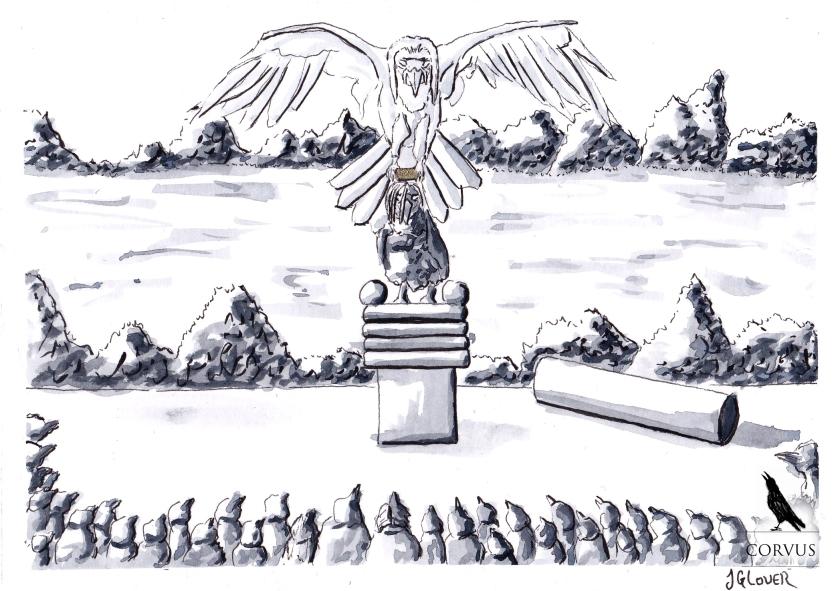 Corvus, Graphic Novel, Art, Illustration, Drawing, Folklore, Story, Myth, Legend, Fiction, Fantasy