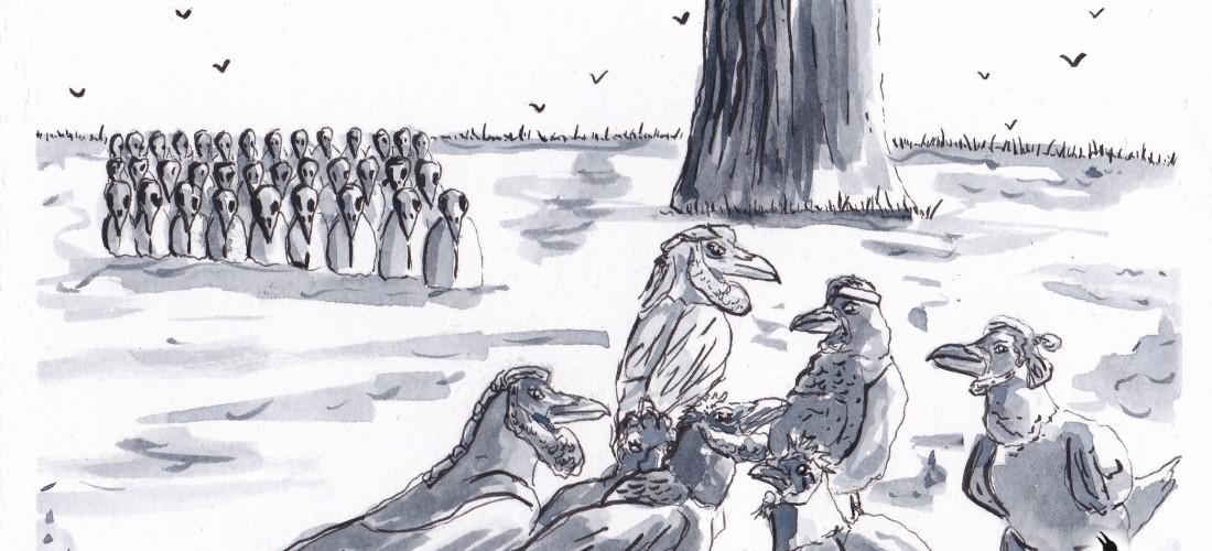Corvus - Graphic Novel - Art - Illustration - Drawing - Story - Web Comic - Fantasy - Folklore - History