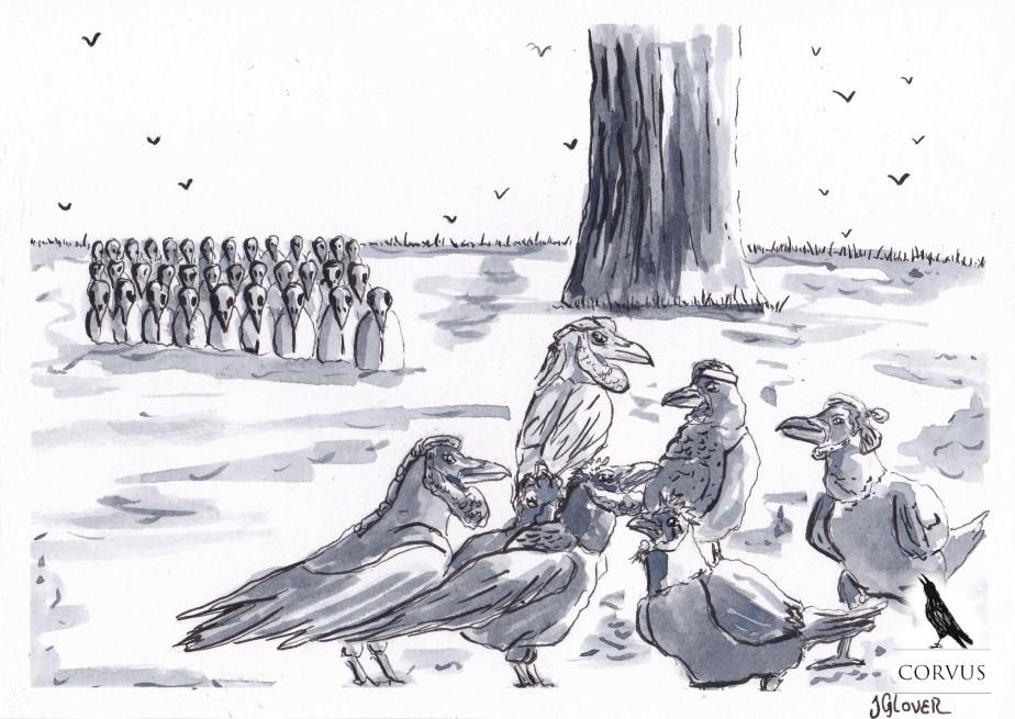 Corvus – A Raven's Tale – Crown of Crows – Part XXXII – The Corvids Assemble forWar