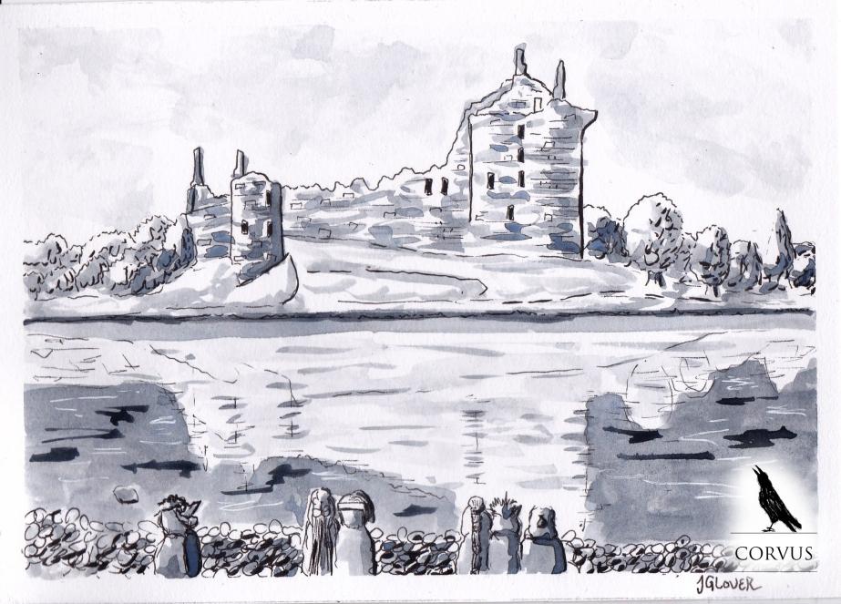 Corvus - Graphic Novel - Art - Illustration - Drawing - Folklore - History