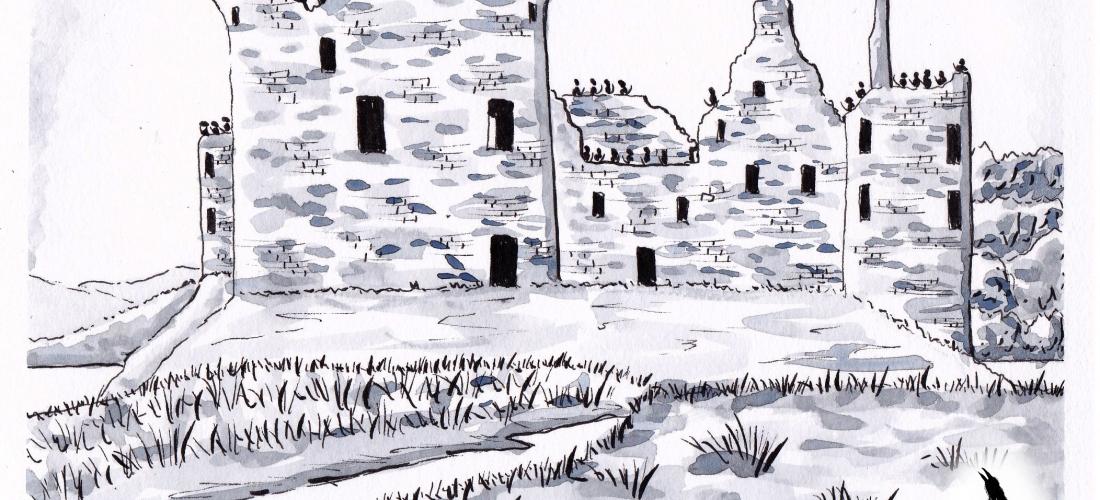 Corvus - Art - Graphic Novel - Fantasy - Drawing - Ink - Story - Books - Illustration