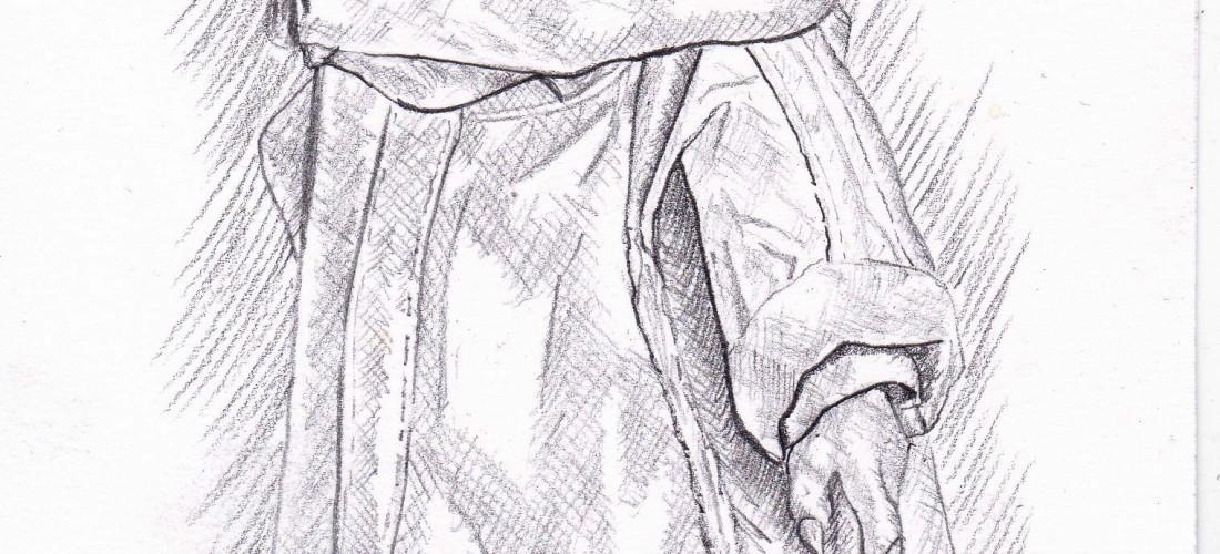 star wars - the mandalorian - the child - baby yoda - drawing - art - illustration - sketch - sketching - sketchbook