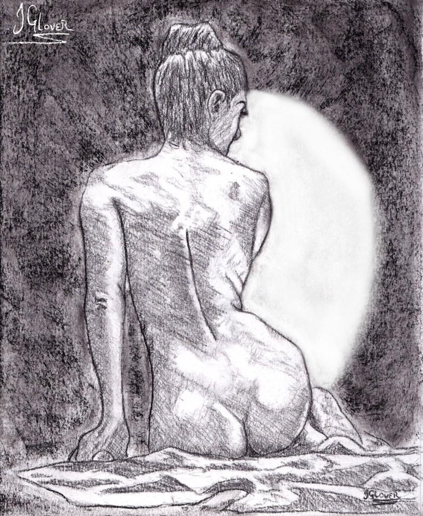 Geisha - Girl - Kyoto - Model - Figure - Drawing - Art - Illustration - Fine Art - Contemporary - Classicism - Classical