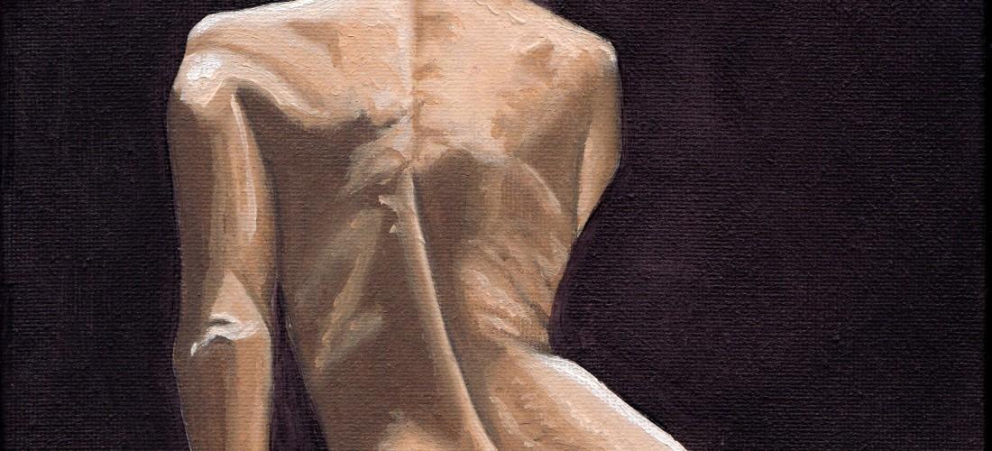 Nude - Geisha - Maiko - Oil - Painting - Art - London - Figure