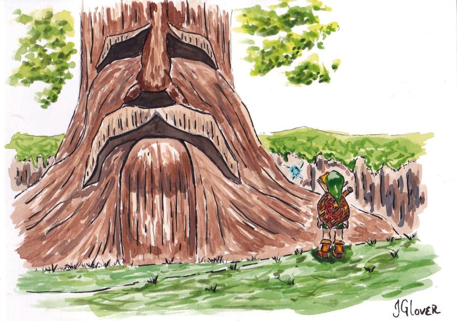 Legend of Zelda – Miniseries I – WatercolourIllustrations