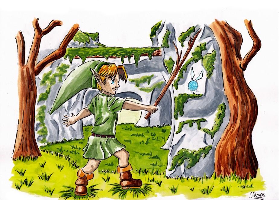 Legend of Zelda IllustrationsRoundup