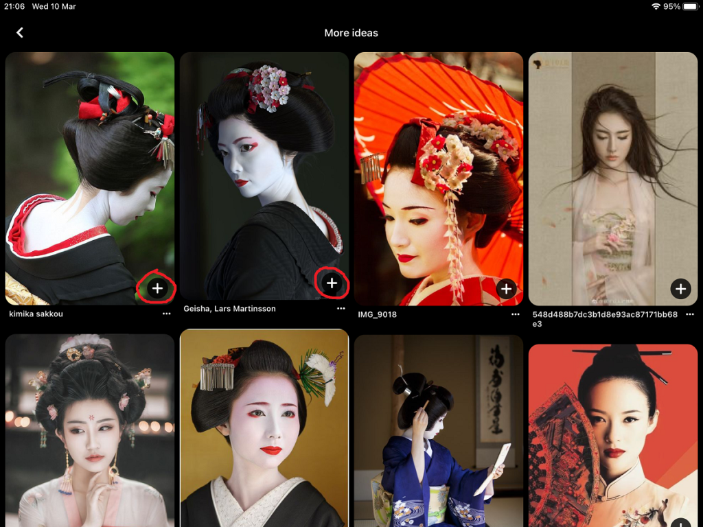 pin everything that you like geisha reference pinterest