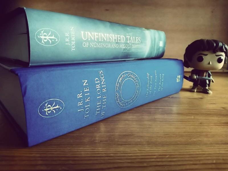 JRR Tolkien - Illustrated - Books - Photo - Frodo - Pop Vinyl - Alan Lee - Ted Nasmith
