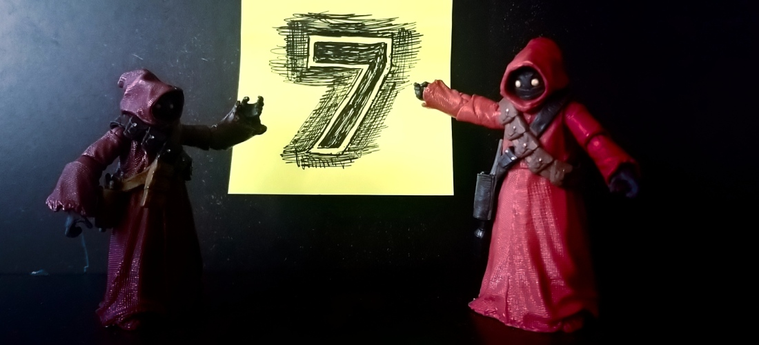 Toy photography two jawa figures from star wars JGlover art - Essex London UK